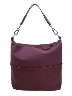Esprit Damen Handtasche Tasche Henkeltasche Vivien Hobo Rot 089EA1O026