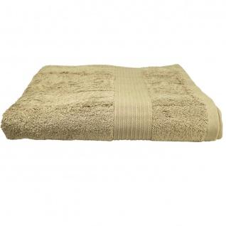 Badetuch Julie Sand Frottee Baumwolle 500g/m2 Handtuch 100 x 150 cm