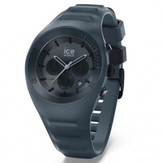 Ice-Watch 014944 ICE P.Leclecq Black Large CH Uhr Chrono Datum Schwarz