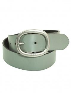 Esprit Damengürtel 113CA1S001-C043 Basic Plus Grau Leder Gürtel 75 cm