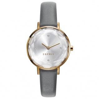 Esprit ES109312002 ESPRIT-TP10931 GREY Uhr Damenuhr Lederarmband Grau