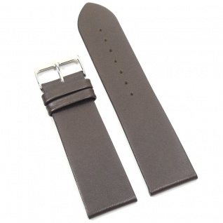 Condor Uhrenband 10202-24-20 Ersatzarmband 24 mm Kalbnappa braun