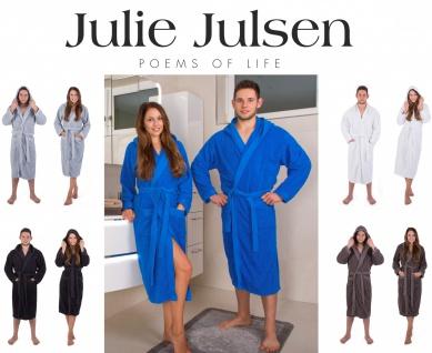Julie Julsen® Bademantel mit Kapuze