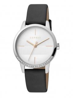 Esprit ES1L106L0025 Yen Uhr Damenuhr Lederarmband Schwarz