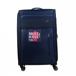 Travelite Capri 4 Rollen Blau 66 cm Trolley 67 L Koffer 89848-20