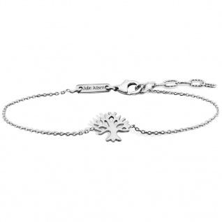 Julie Julsen® JJBR9674.1 Damen Armband Lebensbaum Silber 18 cm