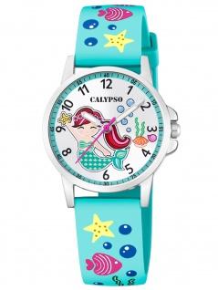 Calypso K5782/4 Meerjungfrau Uhr Mädchen Kinderuhr Kunststoff grün