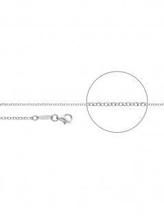 Der Kettenmacher E1-45S Erbs Kette Silber 45 cm