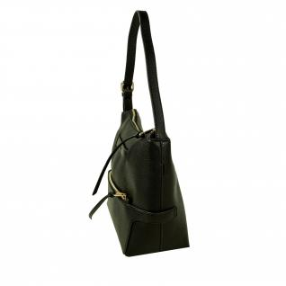 Esprit Nora small Hobo Schwarz Damen Handtasche Tasche Schultertasche - Vorschau 2