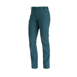 Mammut Damen Outdoor Hose Runje Zip Off Pants Women Blau Wanderhose 42