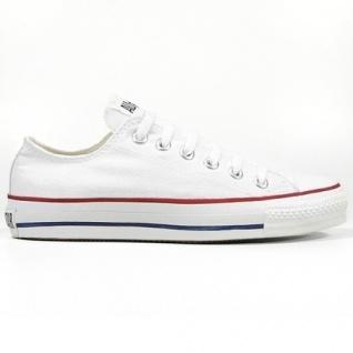 Converse Herren Schuhe All Star Ox Weiß M7652C Sneakers Chucks 41, 5