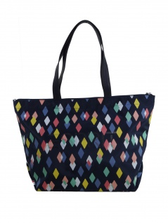 Esprit Handtasche Tasche Shopper Cleo printed Blau 019EA1O022-402