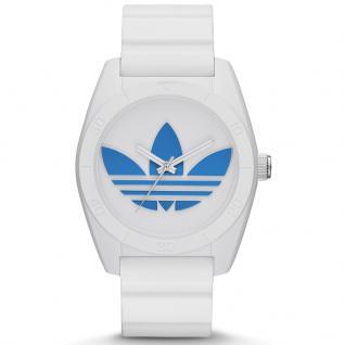 Adidas ADH2921 SANTIAGO Uhr Herrenuhr Kautschuk weiß