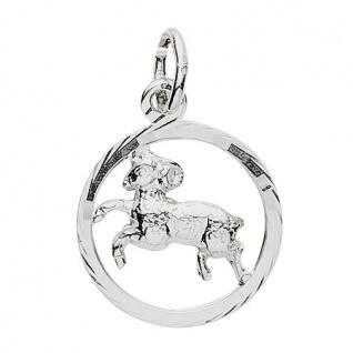 Basic Silber 24.9019SWI Damen Anhänger Sternzeichen Widder Silber - Vorschau 1