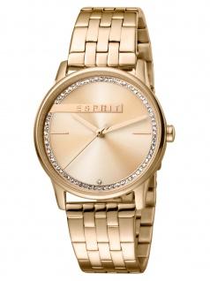 Esprit ES1L082M0055 Rock Uhr Damenuhr Edelstahl Rose