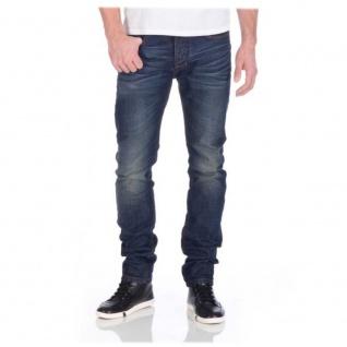 M.O.D Herren Jeans AU14-1004-839 Cornell Regular Berry blue 28W / 32L