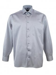 Eterna Herren Hemd Langarm Comfort Fit XL/43 Grau 8817/32/E95K