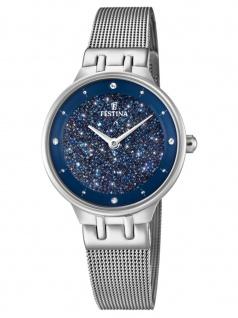FESTINA F20385/2 Uhr Damenuhr Edelstahl Silber