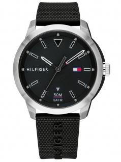 Tommy Hilfiger 1791622 SNEKR Uhr Herrenuhr Kunststoff Schwarz