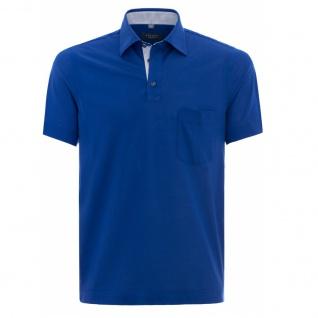 Eterna Herren Comfort Fit Poloshirt Piqué Marineblau L/42 2203/16/U577