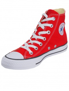 Converse Damen Schuhe CT All Star Hi Rot Leinen Sneakers Gr. 36 2