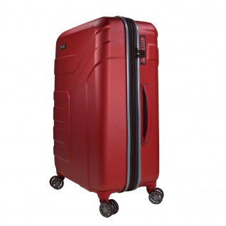 Travelite Vector 4 Rollen Rot 55 cm Trolley 40 L Koffer 72047-88 2