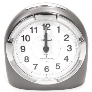Atlanta 1404-4 Funk Wecker Alarm Analog grau