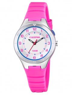 Calypso K5800/2 Uhr Mädchen Kinderuhr Kunststoff pink