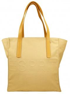 Esprit Damen Handtasche Tasche Drew Shopper Beige 050EA1O310-270