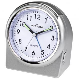 ATRIUM A520-19 Wecker Alarm Analog silber