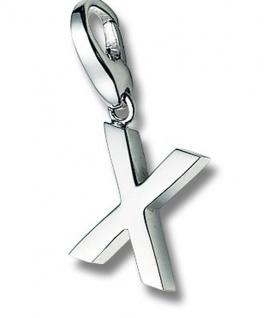 Giorgio Martello 306-805349 Charms Damen Charm Silber Buchstabe X
