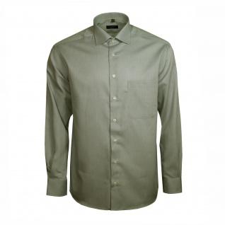 Eterna Herren Hemd Langarm Comfort Fit Grau XL/44 Hemden 4425/33/E19K
