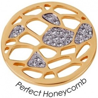 Quoins QMOA-20L-G Münze Jewelz large Perfect Honeycomb weiß