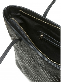 Desigual Damen Handtasche Tasche Shopper CLAUDIA CAPRI ZIPPER Schwarz - Vorschau 2