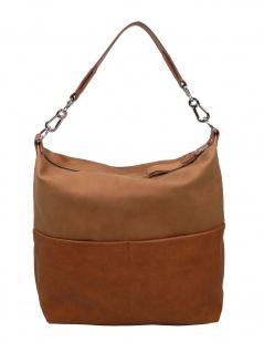 Esprit Damen Handtasche Tasche Vivien Hobo Braun 089EA1O026-220