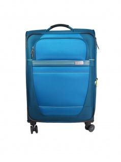 Travelite Trolley Meteor 4 Rollen Blau Koffer 66 cm Blau 89448-22