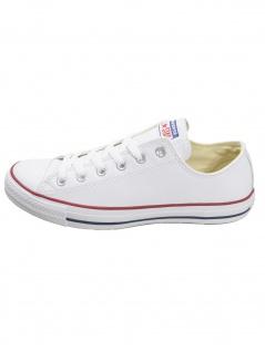 Converse Herren Schuhe CT Ox Weiß Glattleder Sneakers 45 EU