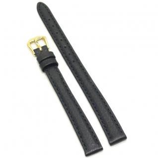Condor Uhrenband 193011-12-10 Ersatzarmband 12 mm Überlang schwarz L