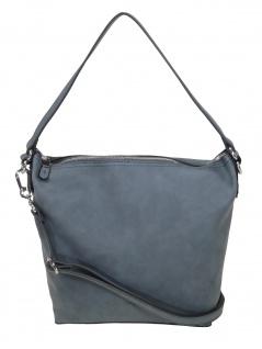 Esprit Damen Handtasche Tasche Venus hobo shoulderbag Grau 089EA1O029