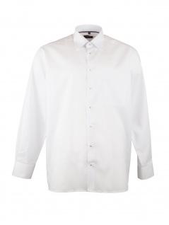Eterna Herren Hemd Langarm Comfort Fit XL/44 Weiß 8100/00/E18E