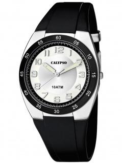 Calypso K5753/5 Uhr Herrenuhr Kunststoff schwarz
