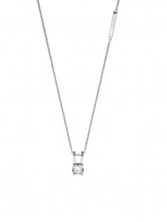 Esprit ESNL00101142 Damen Collier LilllianSilber Weiß 45 cm