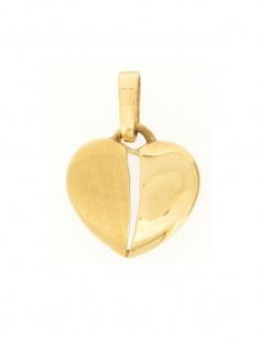 Gerry Eder 21.0024 Anhänger Herz 14 Karat (585) Gelbgold Gold