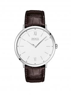 Hugo Boss 1513646 ESSAL Uhr Herrenuhr Lederarmband Braun