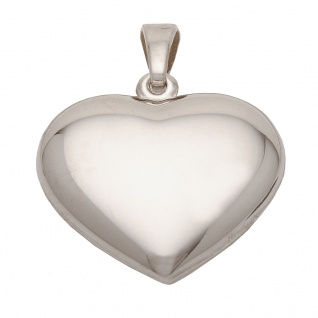 Basic Silber SH03 Damen Anhänger Herz Silber