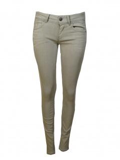 G Star Damen Jeans Hose Lynn Mid Skinny Weiß Grau Gr 30w 34l