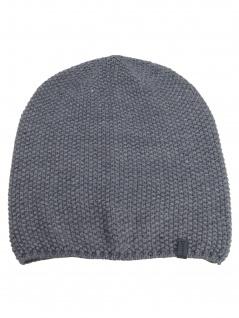 Esprit Hüte Mützen Beanie Structure Knit Beanie OneSize Grau