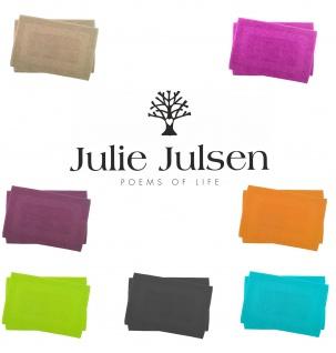2 er Set Julie Julsen® Badvorleger Duschvorleger Spirale