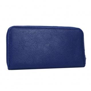 Pieces Geldbörse NINA Purse Blau 17067023 Damen Geldbeutel Geldtasche - Vorschau 4