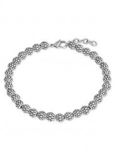 s.Oliver 2022629 Herren Armband Edelstahl Silber 22 cm